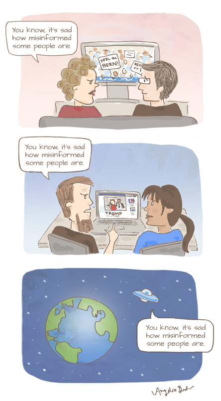 Comic: Misinformed by Angelia Becker